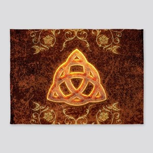 The celtic sign 5'x7'Area Rug