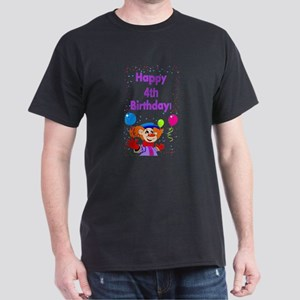 4th birthday Dark T-Shirt