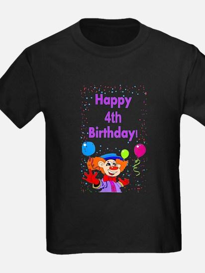 4th birthday T