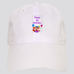 4th birthday Cap