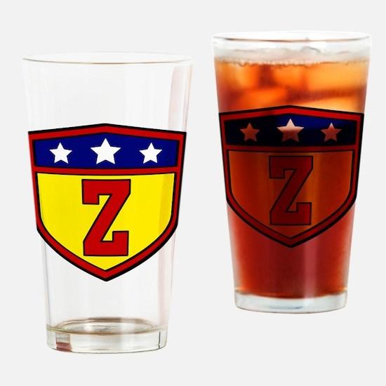 Cute Z Drinking Glass