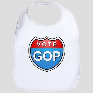 Vote GOP Bib