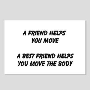 Best Friend Postcards (Package of 8)