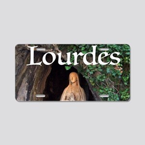 Virgin Mary Lourdes 1 Aluminum License Plate