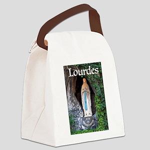 Virgin Mary Lourdes 1 Canvas Lunch Bag