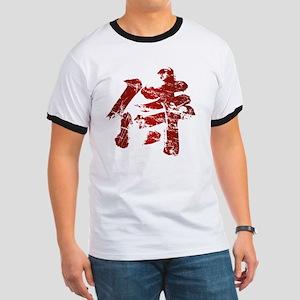 Broken Samurai Kanji Ringer T