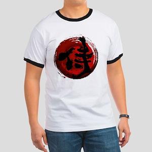 Samurai Kanji Ringer T