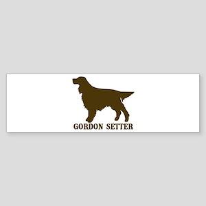 Gordon Setter (brown) Bumper Sticker
