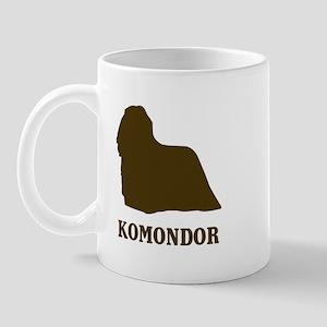 Komondor (brown) Mug