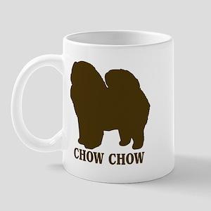 Chow Chow (brown) Mug
