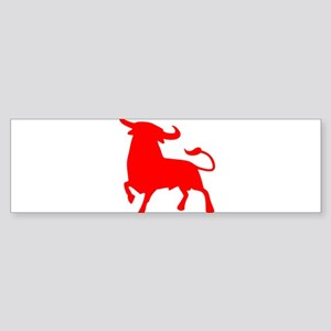 bull spain Bumper Sticker
