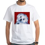 Maltese White T-Shirt