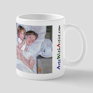 Breakfast in Bed by Cassatt Mug