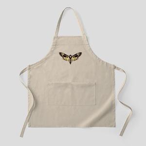 skull butterfly Apron