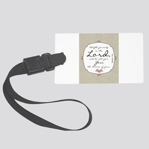 Delight Yourself in the Lord Luggage Tag