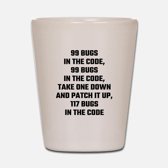 Cute Code Shot Glass