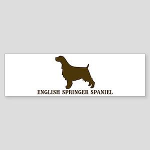 English Springer Spaniel (bro Bumper Sticker