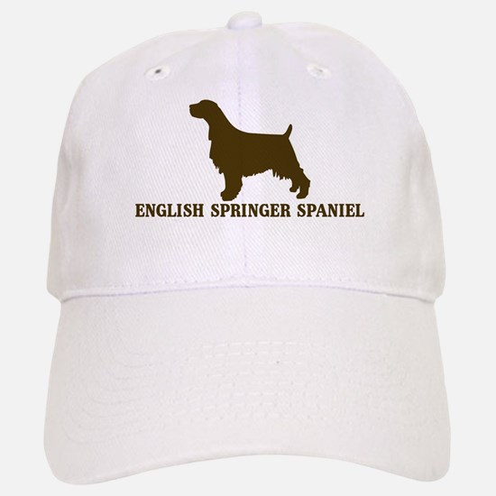 English Springer Spaniel (bro Baseball Baseball Cap