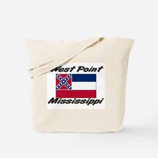 West Point Mississippi Tote Bag