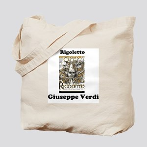OPERA - RIGOLETTO - GUISEPPE VERDI Tote Bag