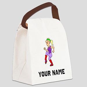 Aerobics Instructor Canvas Lunch Bag