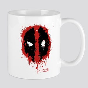 Deadpool Splatter Mask Mug