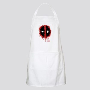 Deadpool Splatter Mask Apron