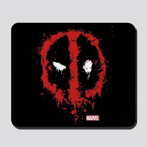 Deadpool Splatter Mask Mousepad