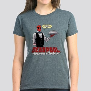 deadpool silver Women's Dark T-Shirt