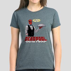 deadpool silver Women's Dark T-Shirt