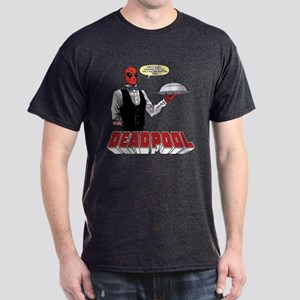 deadpool silver Dark T-Shirt