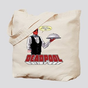 deadpool silver Tote Bag