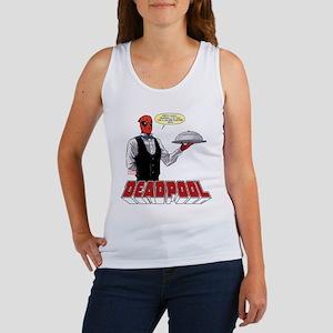 deadpool silver Women's Tank Top