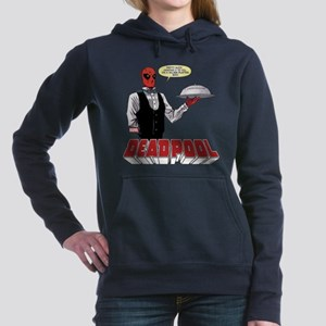 deadpool silver Women's Hooded Sweatshirt