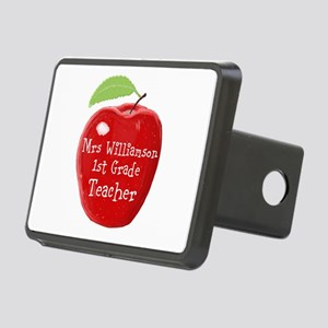 Personalised Teacher Apple Painting Rectangular Hi