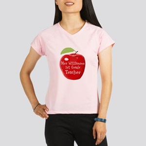 Personalised Teacher Apple Painting Performance Dr