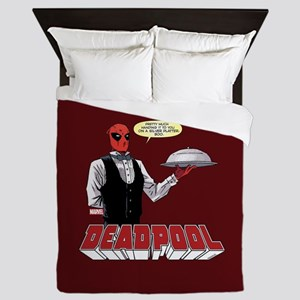 deadpool silver Queen Duvet