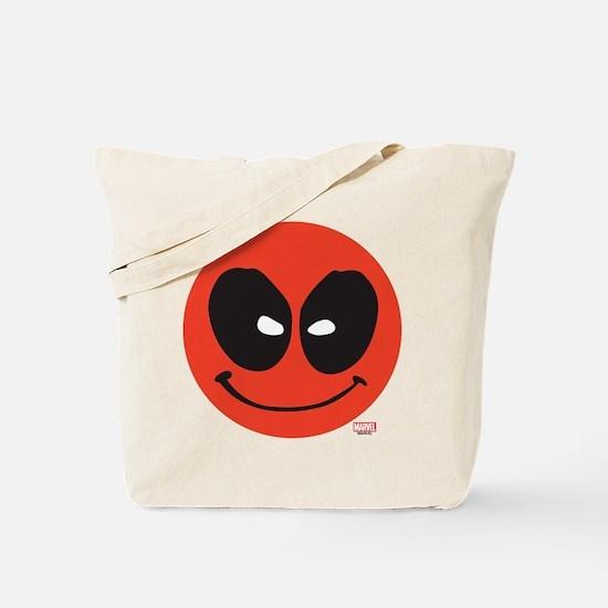 Deadpool Smiley Face Tote Bag