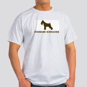 Standard Schnauzer (brown) Light T-Shirt