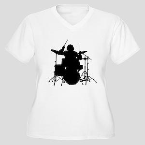 drummer Plus Size T-Shirt