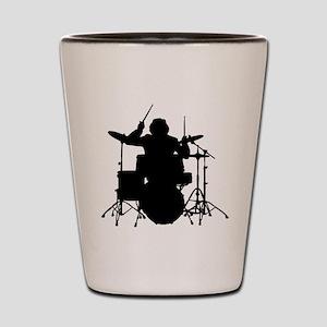 drummer Shot Glass