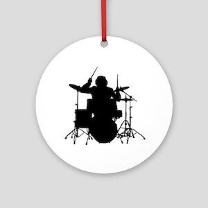 drummer Round Ornament