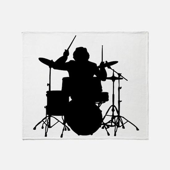 drummer Throw Blanket