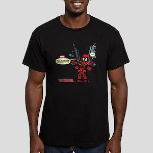 Deadpool Gonna Die Men's Fitted T-Shirt (dark)