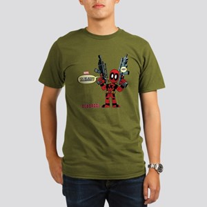 Deadpool Gonna Die Organic Men's T-Shirt (dark)