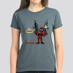Deadpool Gonna Die Women's Dark T-Shirt