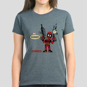 Deadpool Gonna Die Women's Dark T-Shirt