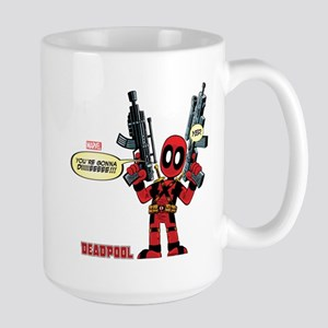 Deadpool Gonna Die Large Mug