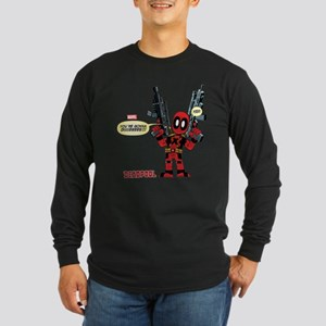 Deadpool Gonna Die Long Sleeve Dark T-Shirt