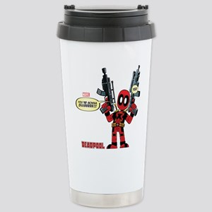 Deadpool Gonna Die Stainless Steel Travel Mug